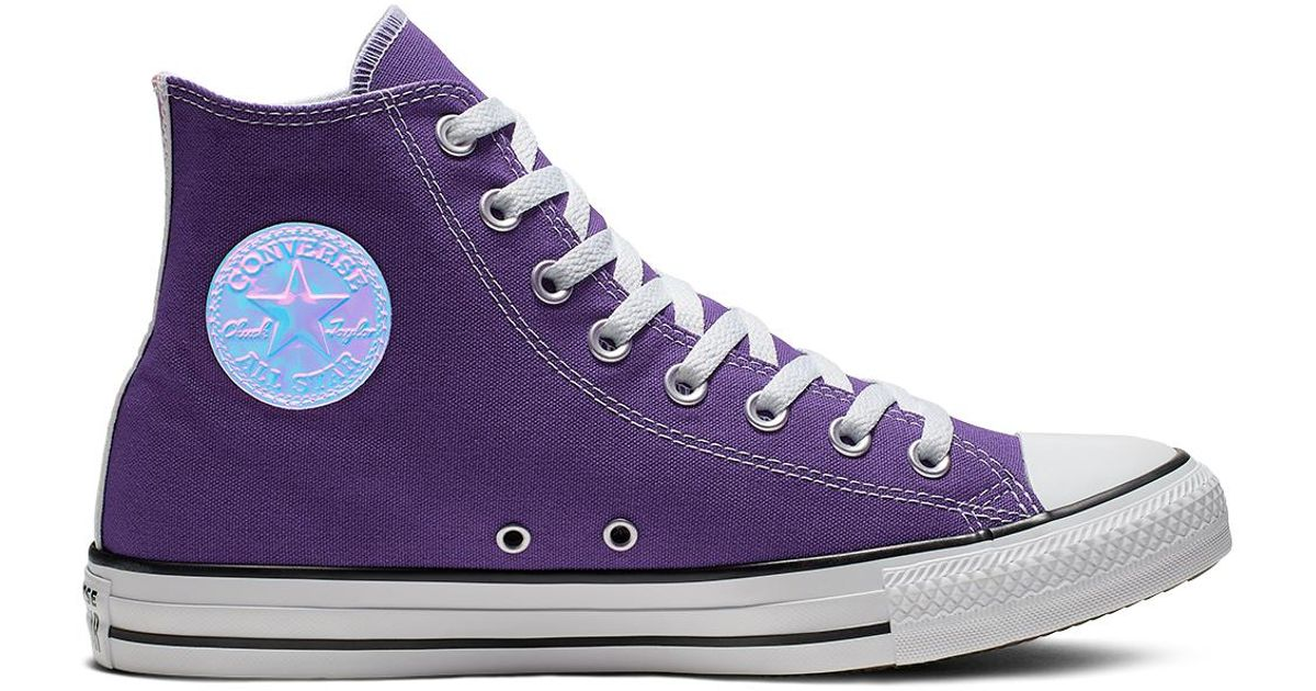 c2bb872af99 Converse Chuck Taylor All Star Jewel Pack High Top in Purple for Men - Lyst