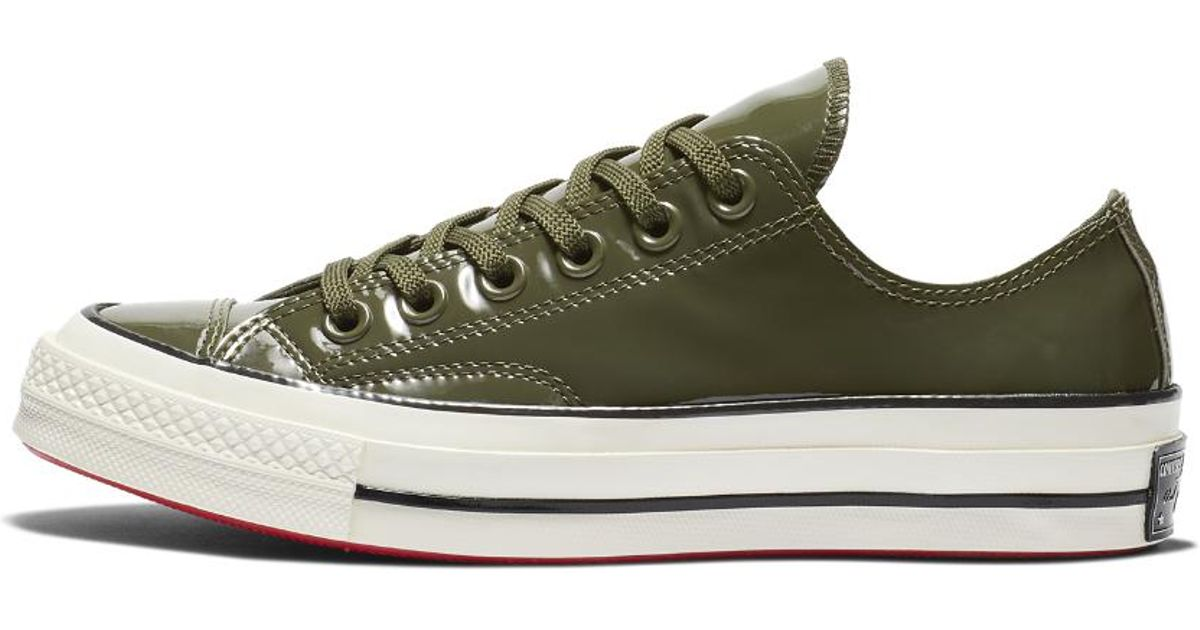 Converse Green Chuck 70 Patented '90s Leather Low Top Women's Shoe