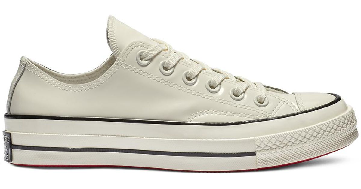Converse White Chuck 70 Patented '90s Leather Low Top
