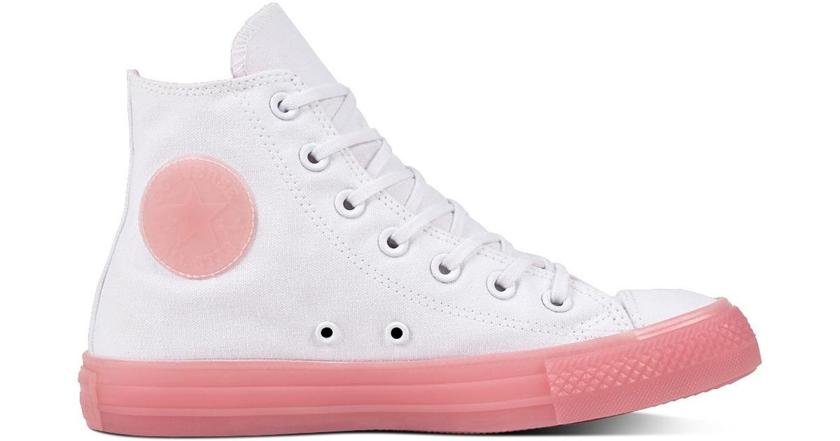 Converse Chuck Taylor All Star Candy Coated in White - Lyst 93a6c14aff46