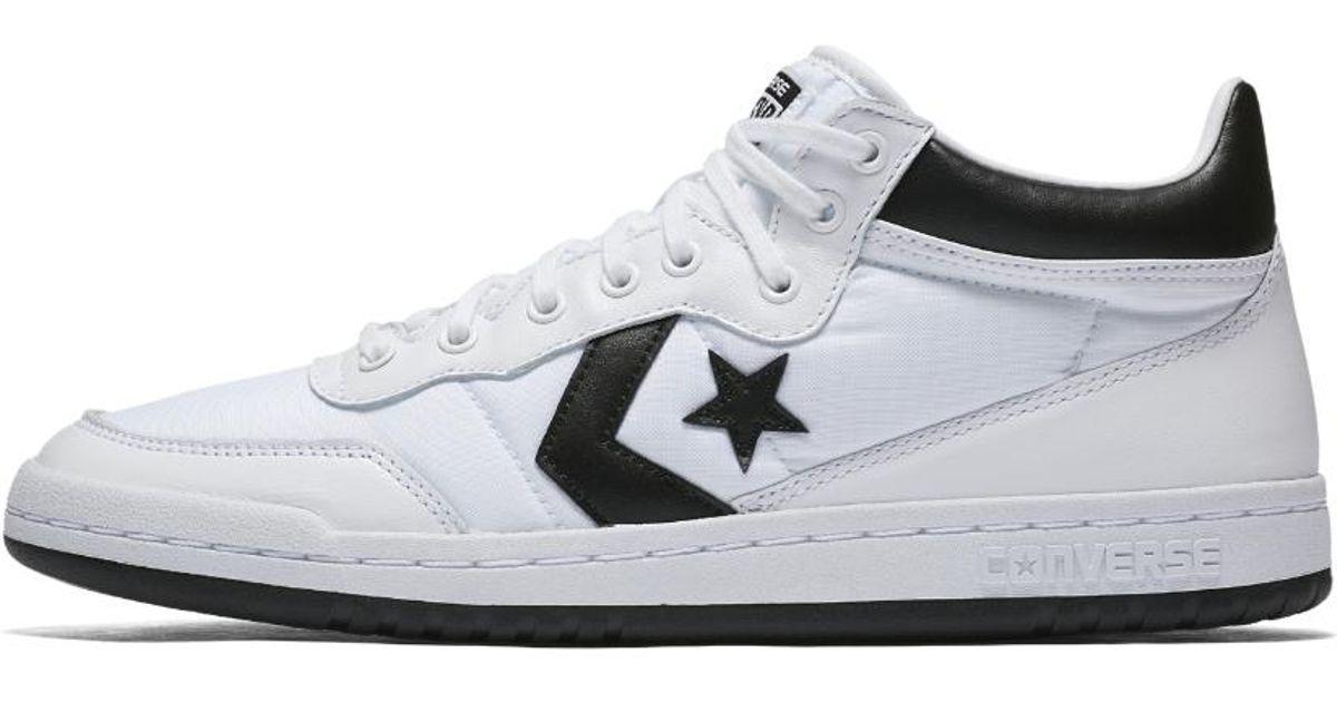 Lyst - Converse Fastbreak Mid Top Shoe in White for Men 4582c69c0
