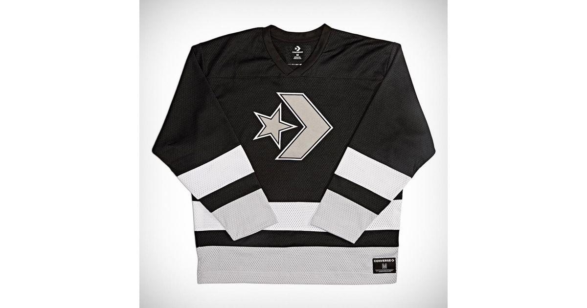 converse hockey jersey