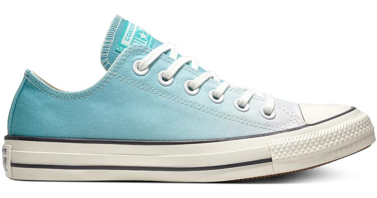 Femmes Converse Chuck Taylor All Star Ombre Wash Ox Storm