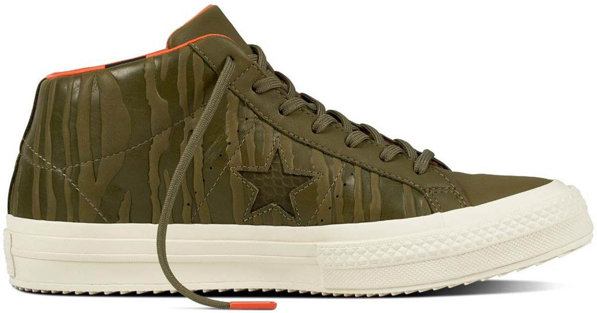 newest collection 12fbb 45845 Converse One Star Mid Counter Climate in Green for Men - Lyst