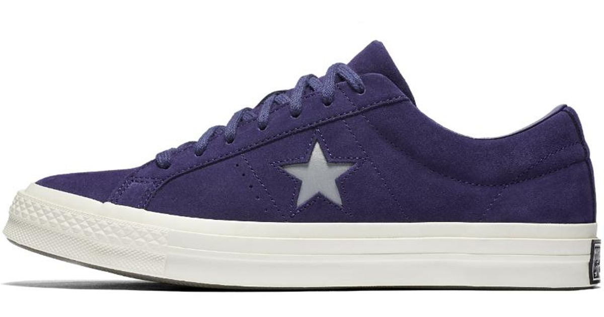 1d8c482d7e7 ... germany lyst converse one star suede low top mens shoe in purple for  men 52539 f372d