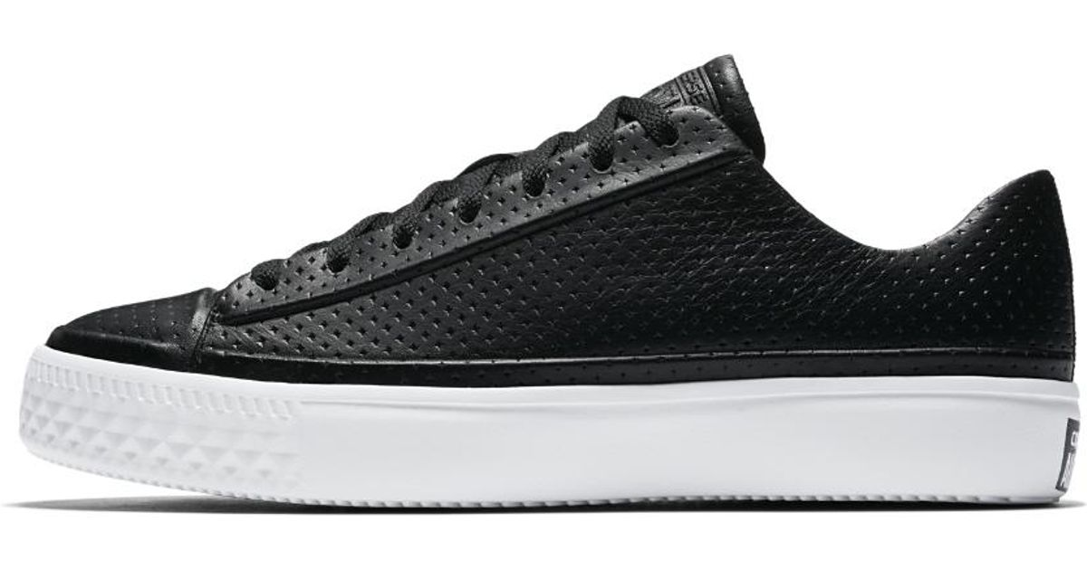 43cfc85ec9a4bc Lyst - Converse Chuck Taylor All Star Modern Leather Low Top Men s Shoe in  Black for Men