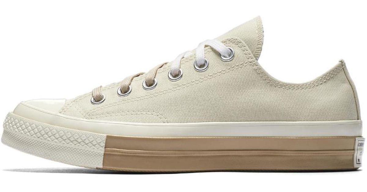 bc330e2cc69a Lyst - Converse Chuck 70 Super Color-block Low Top Women s Shoe in White