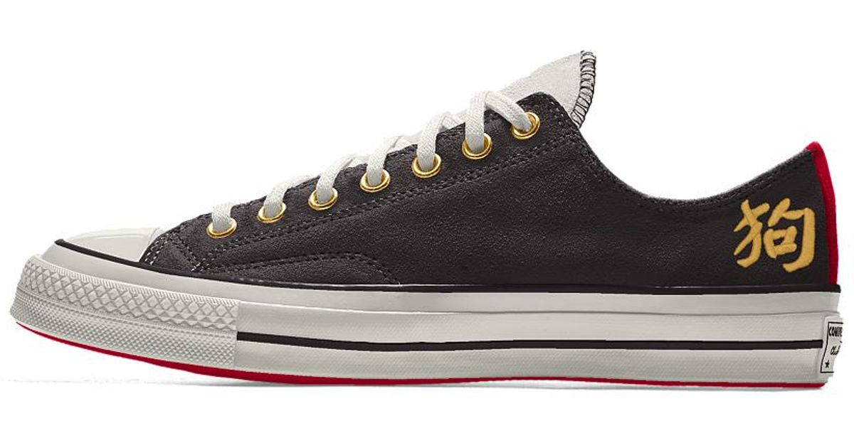 286b5b05de4 Lyst - Converse Custom Chuck 70 Suede Chinese New Year Low Top Shoe in  Brown for Men