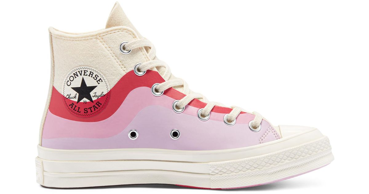 Converse Thermo Felt Chuck 70 in White - Lyst
