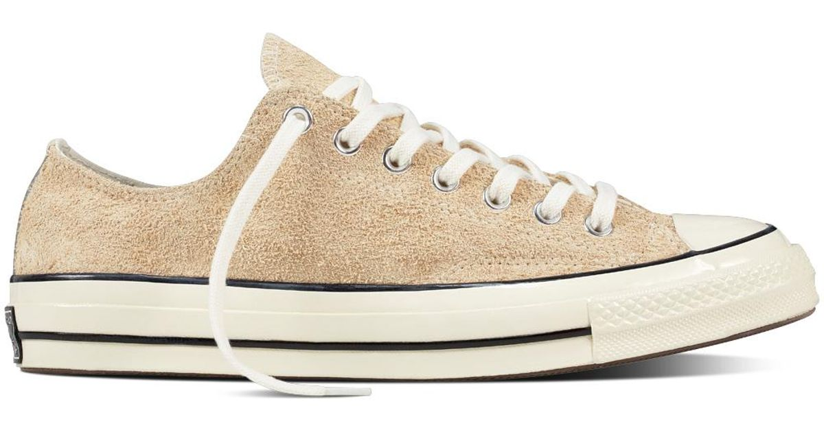 90d1f0036da7 Converse Chuck Taylor All Star 70 Vintage Suede in Natural for Men - Lyst