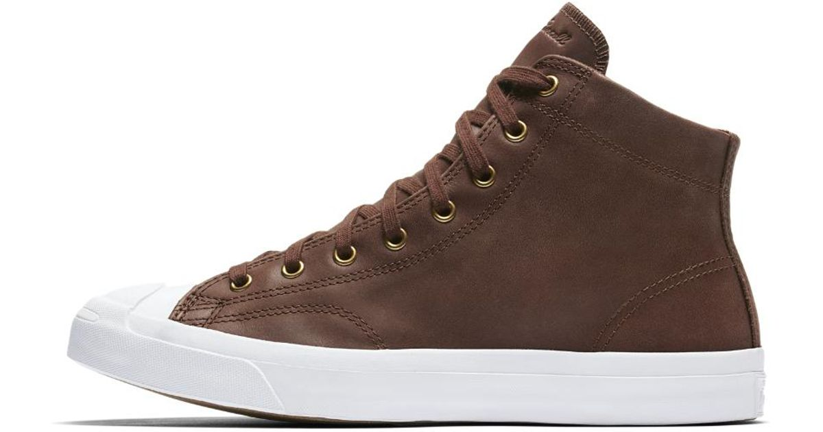 Converse Jack Purcell Mid Boot Leather