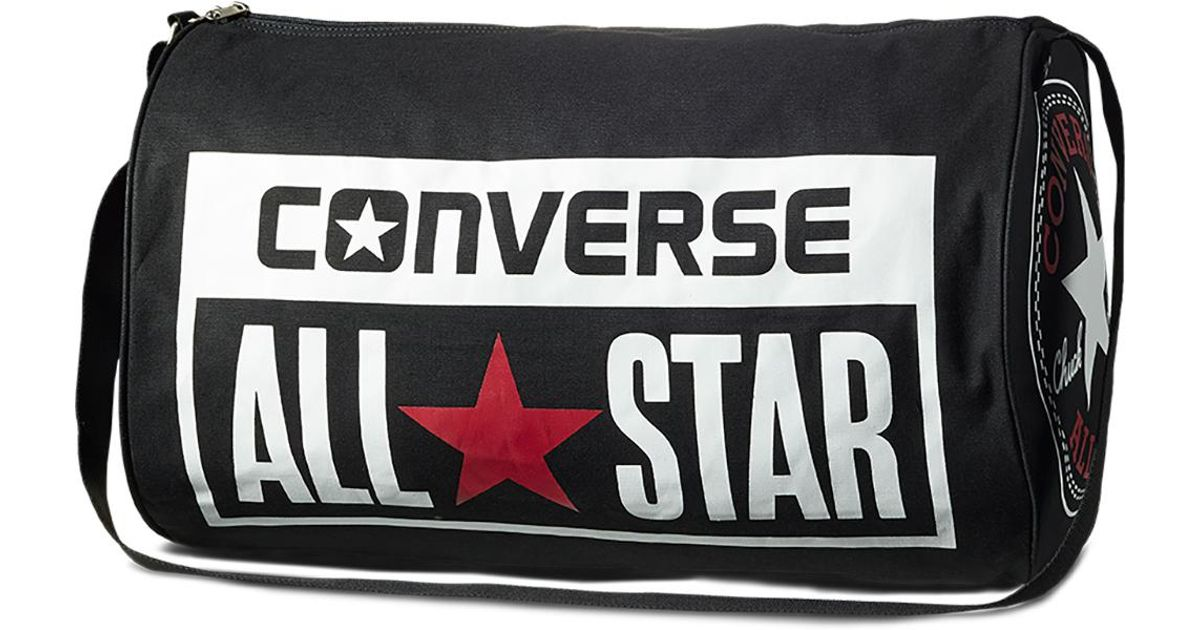bc1b1c141a1e Converse Chuck Taylor All Star Legacy Duffel Bag in Black for Men - Lyst