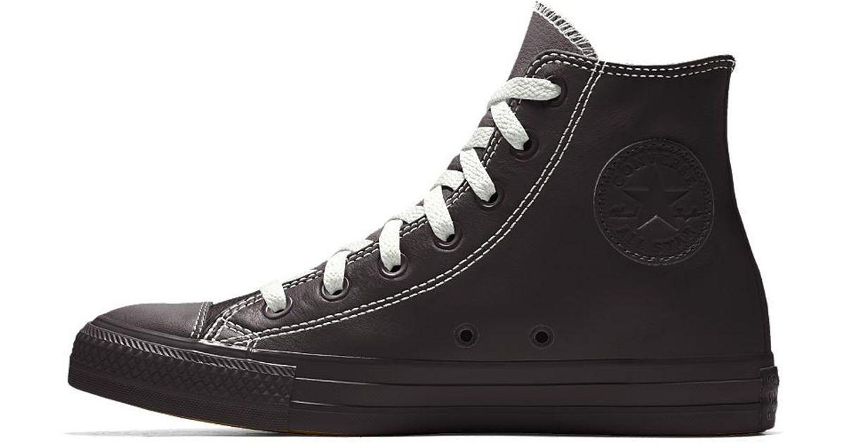 converse custom chuck 70 premium leather high top