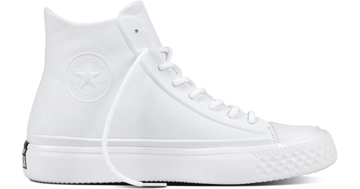 bace670a20d98e Converse Chuck Taylor All Star Modern Lux in White for Men - Lyst