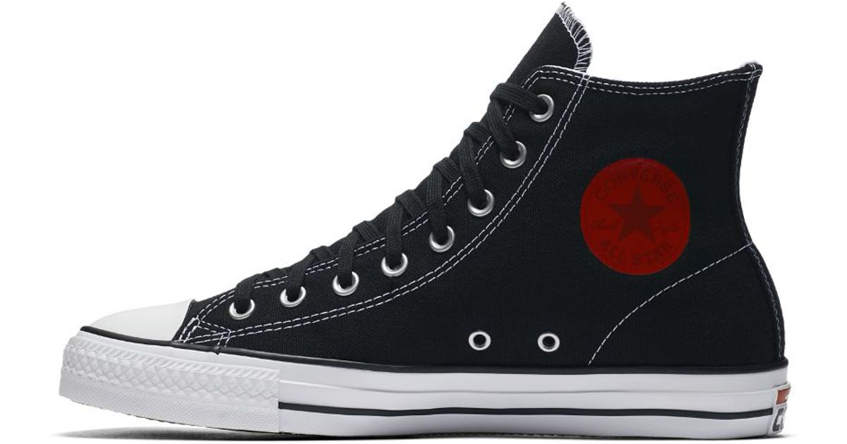 a0a2db737a7e Lyst - Converse X Chocolate Ctas Pro High Top Skateboarding Shoe in Black  for Men