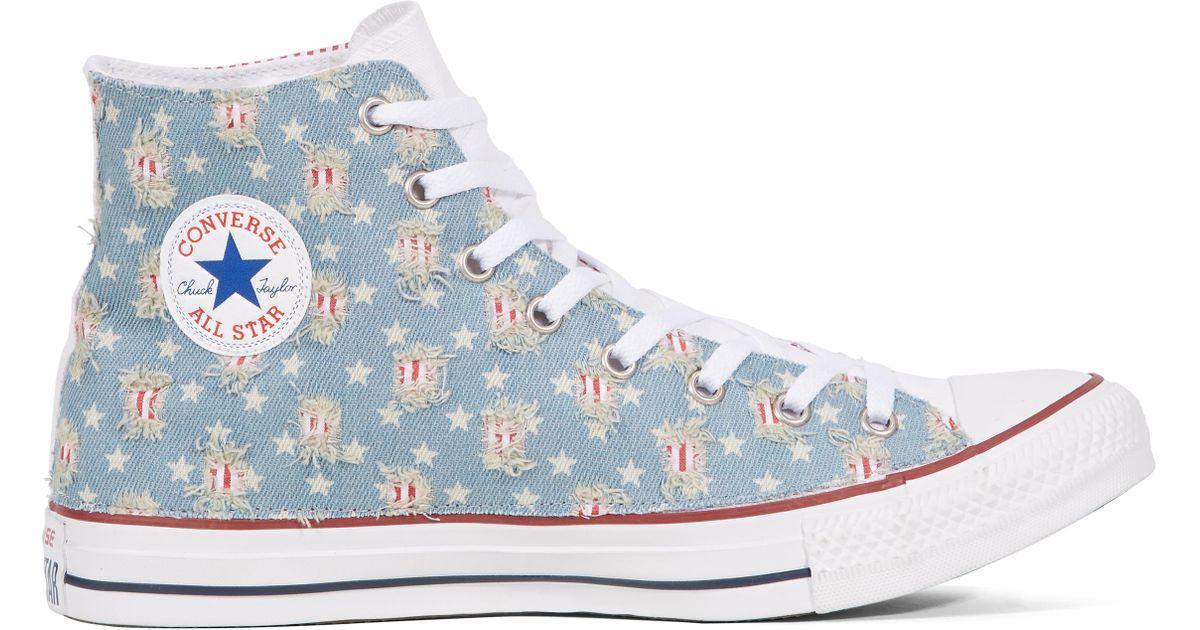 Chaussures Converse Sneakers Chuck Taylor All Star Ltd Denim