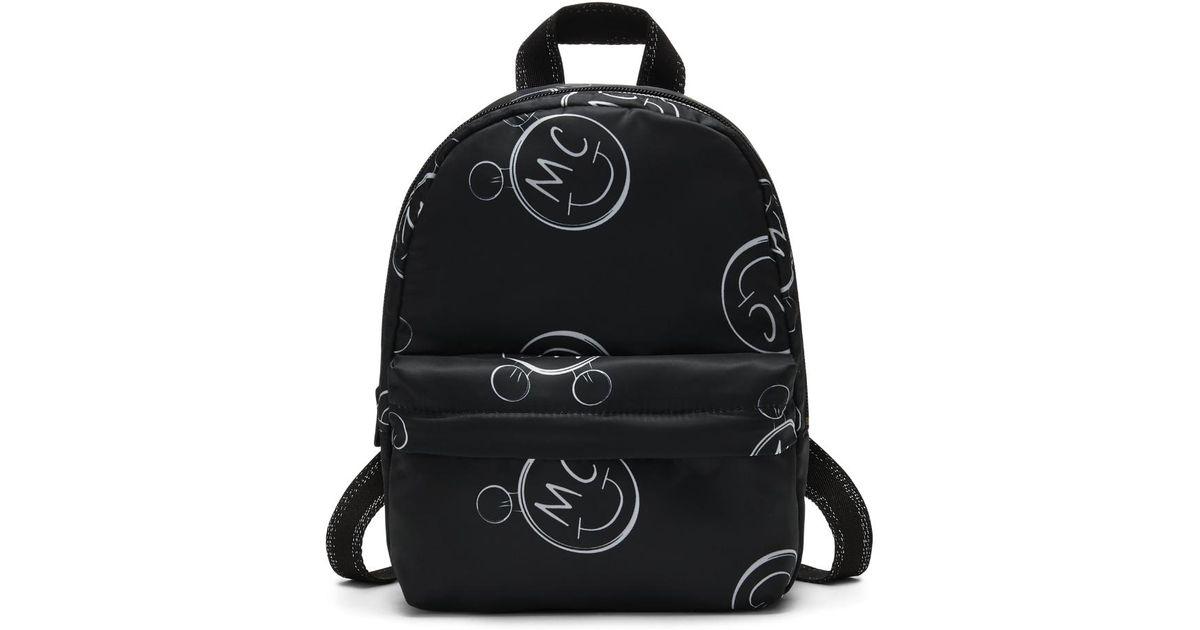 Lyst - Converse X Miley Cyrus Logo Mini Women s Backpack (black) in Black 580bfd6f4bd4f
