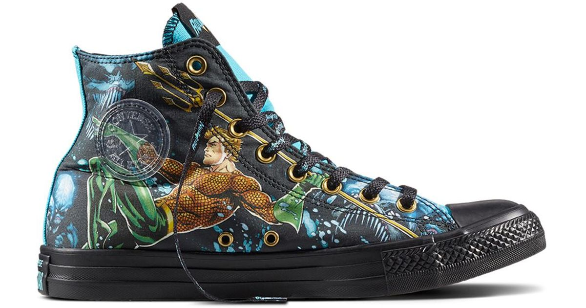 89cff34142fb Converse Chuck Taylor All Star Justice League in Black - Lyst