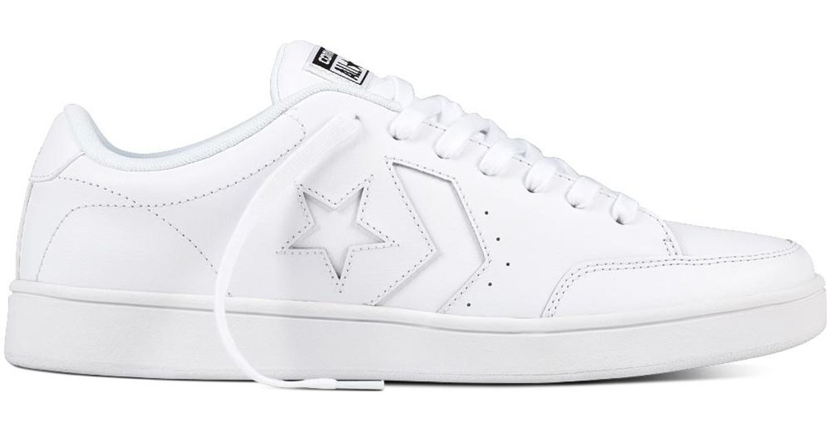 1c22513abbbf Converse Star Court in White - Lyst