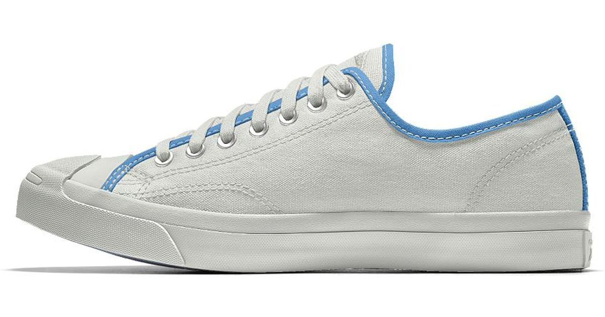 db8cb6fd68c3 Lyst - Converse Custom Jack Purcell Canvas Low Top Shoe in White for Men