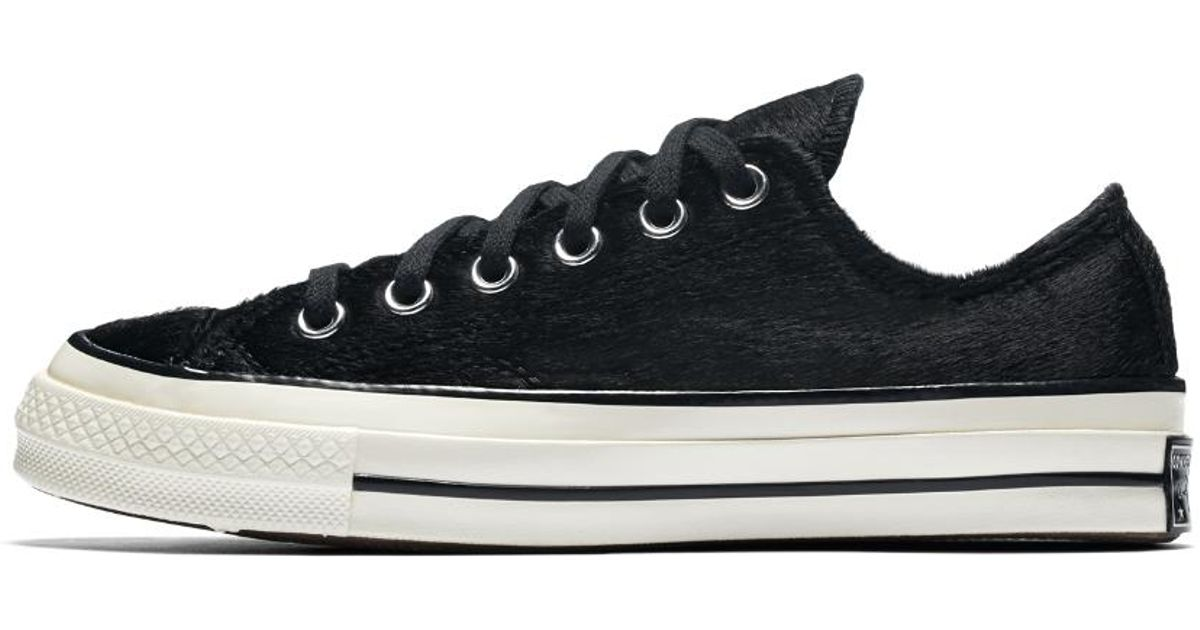 Converse Leather Chuck 70 Pony Hair Low