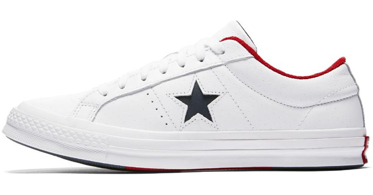 57320a272171 Lyst - Converse One Star Grand Slam Low Top Men s Shoe in White for Men