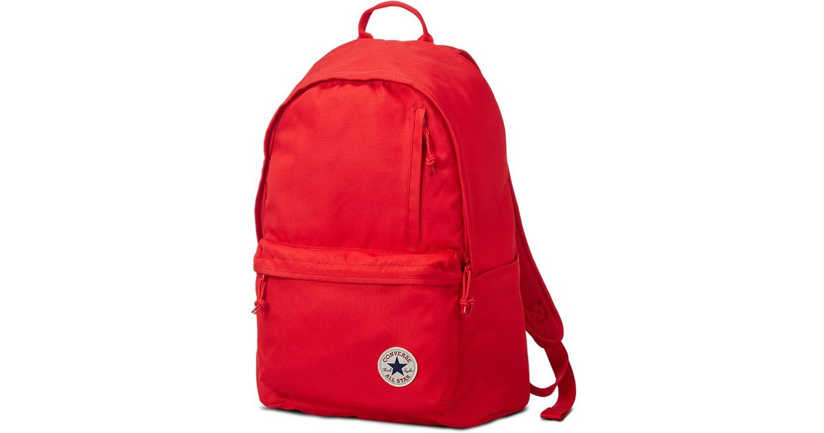 182621206fa4 Converse Chuck Taylor All Star Original Backpack in Red - Lyst