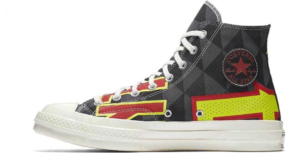 2adc8e1ea61e Lyst - Converse Chuck 70 Atlanta Hawks Gameday High Top Shoe in Black for  Men