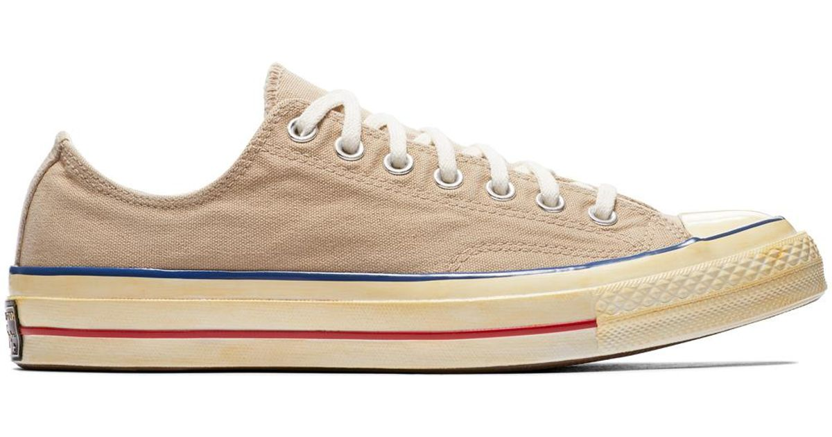 Converse Chuck Taylor All Star  70 Vintage  36 Canvas in Natural - Lyst 6887484641