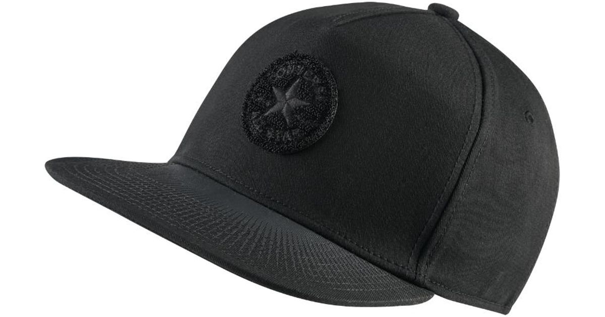 Lyst - Converse Cny Solar Eclipse Hat (black) in Black for Men cf6340a7986