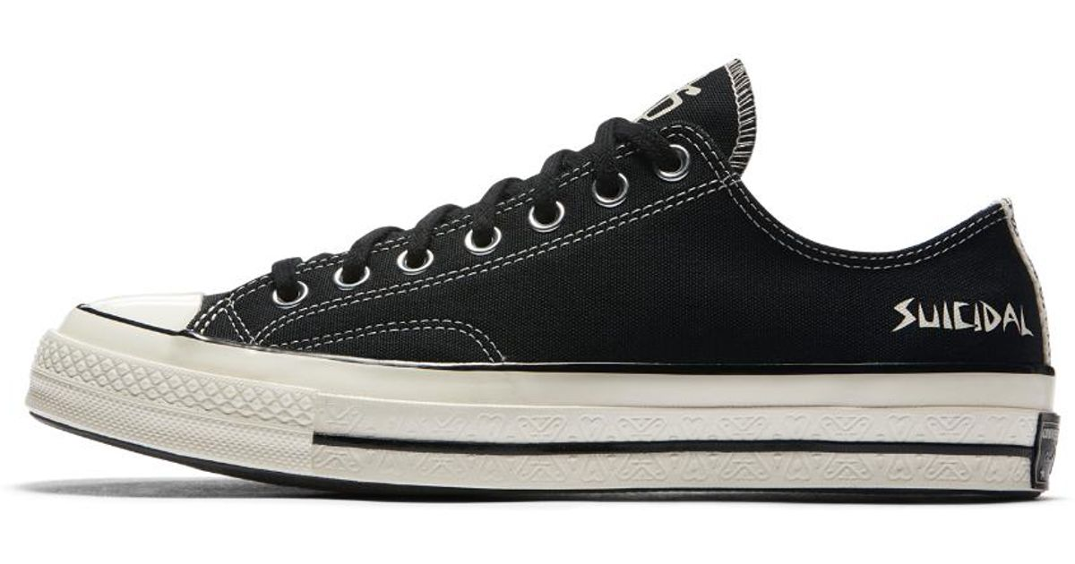 10229f2f8ac0 Lyst - Converse X Suicidal Tendencies Chuck 70 Low Top in Black for Men