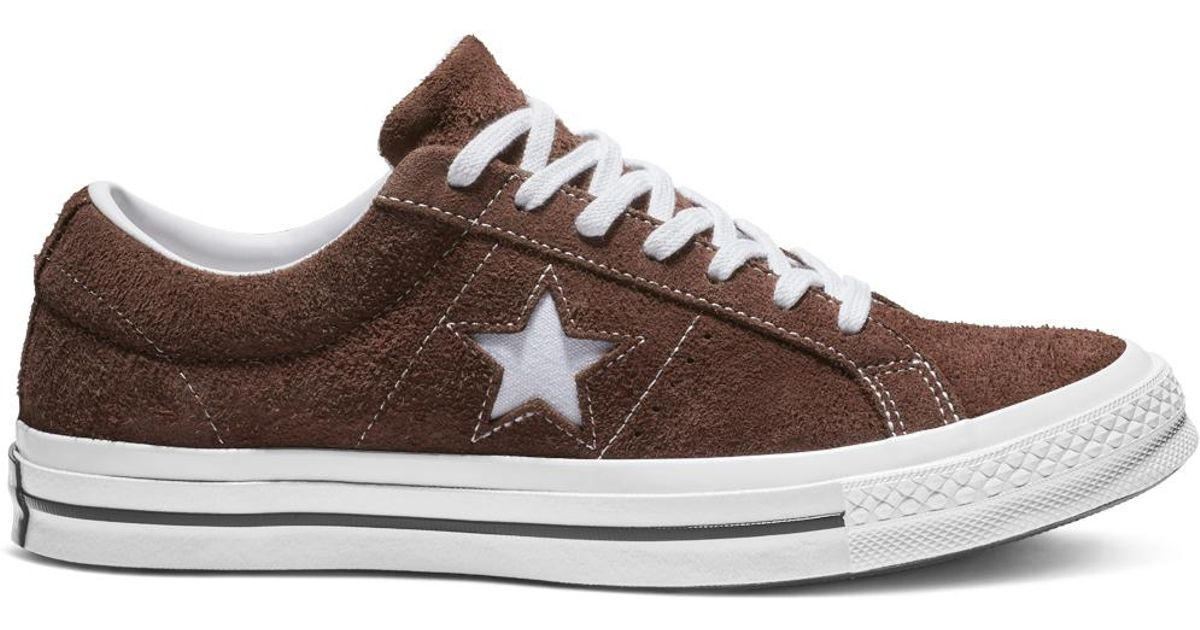 7efa2aec745 Converse One Star Ox Vintage Suede in Brown for Men - Save 62% - Lyst