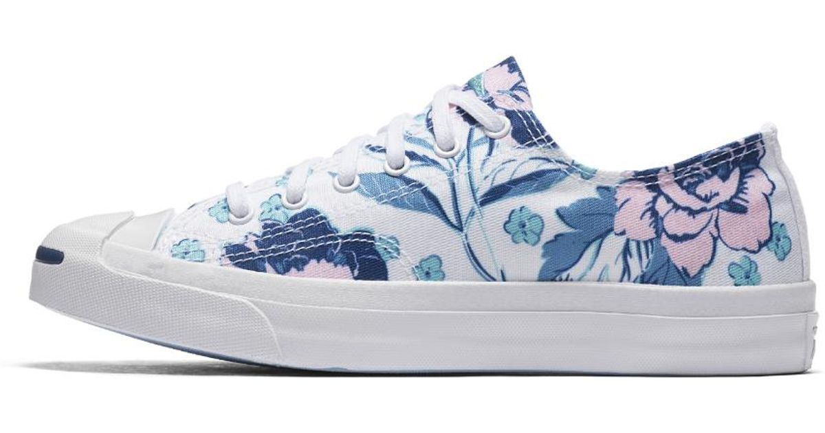 Converse Canvas Jack Purcell Floral