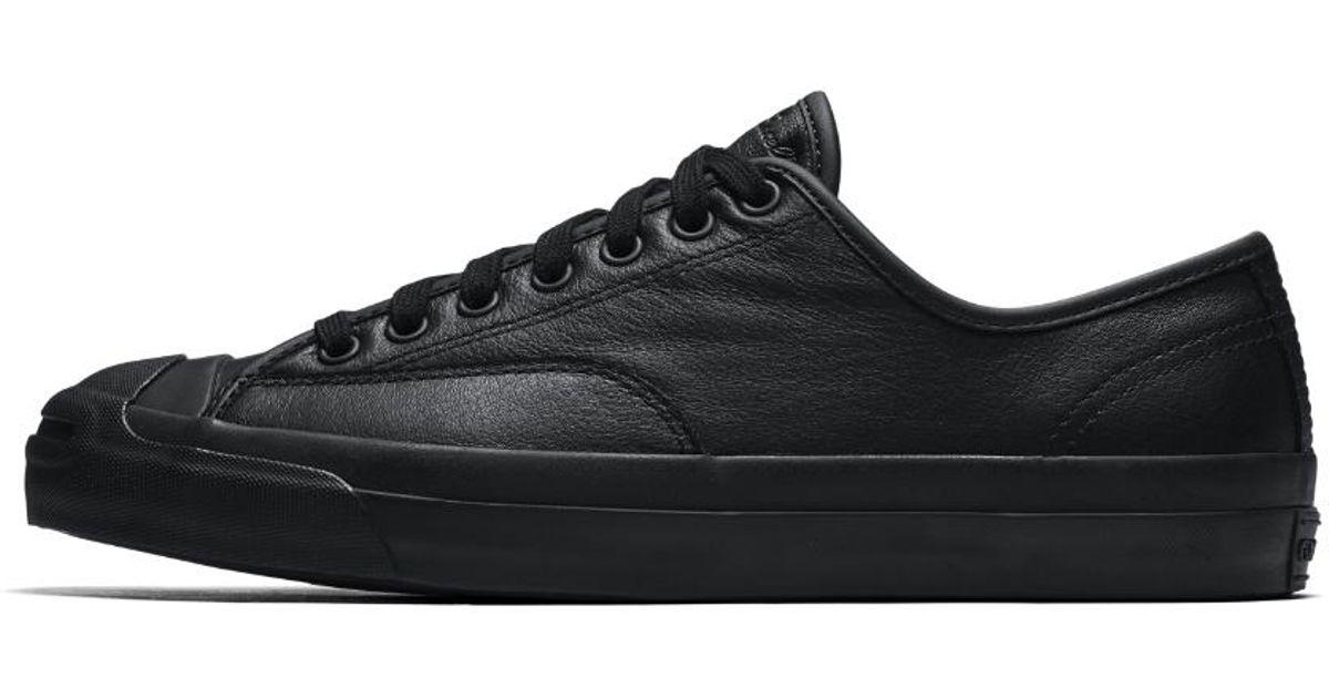 660ed1f97794 Lyst - Converse Jack Purcell Pro Low Top Men s Skateboarding Shoe in Black  for Men