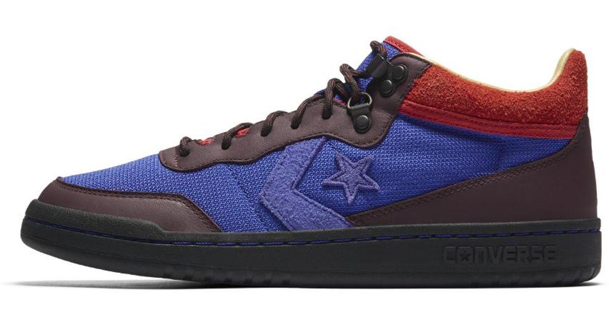 Lyst - Converse X Clot Fastbreak Mid Men s Shoe in Blue for Men bbffef817