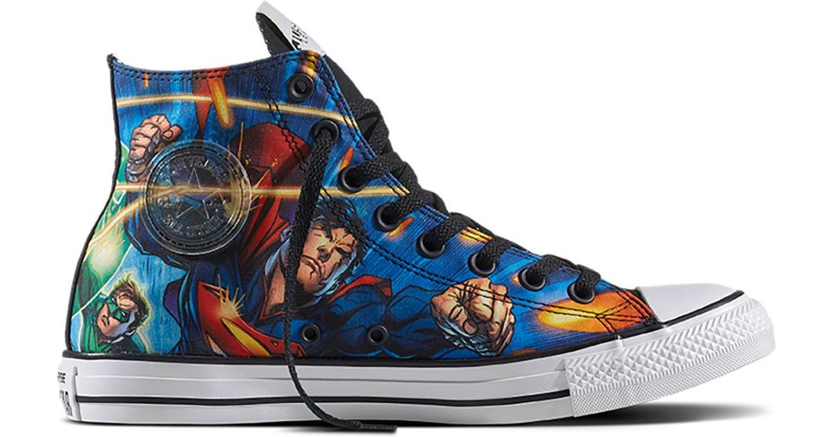 70b5735c0462 Converse Chuck Taylor All Star Justice League in Blue - Lyst