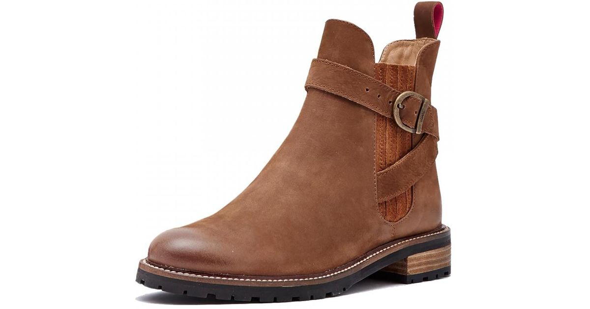 Joules Leather Hampton Chunky Cleated