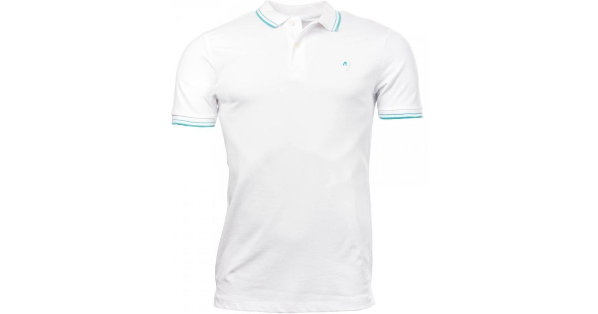 1ab968617cbb Lyst - Replay Polo Shirt in White for Men