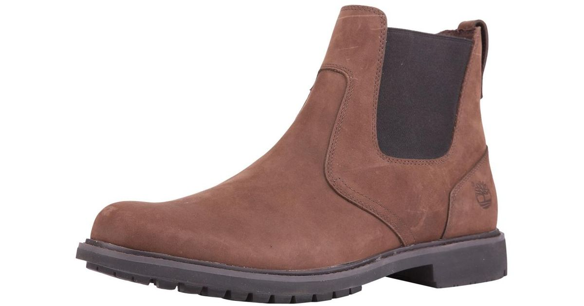 434c3bdf512c6 Timberland Earthkeepers Stormbuck Mens Chelsea Boot in Brown for Men - Lyst