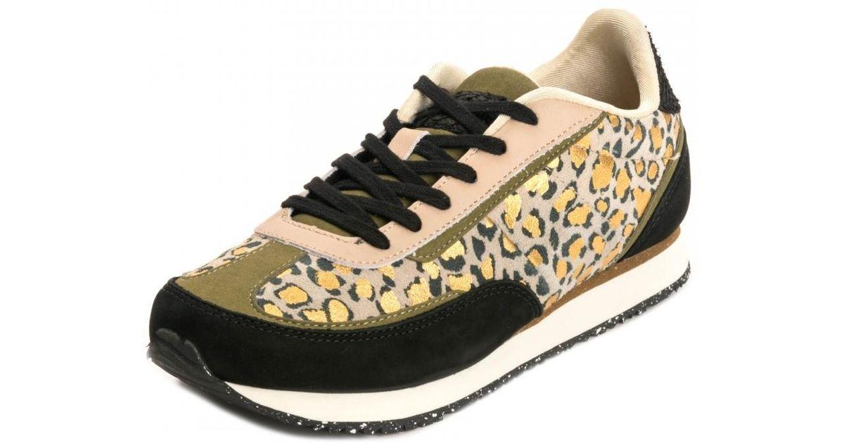 Woden Agnes Leopard Sneakers - Lyst