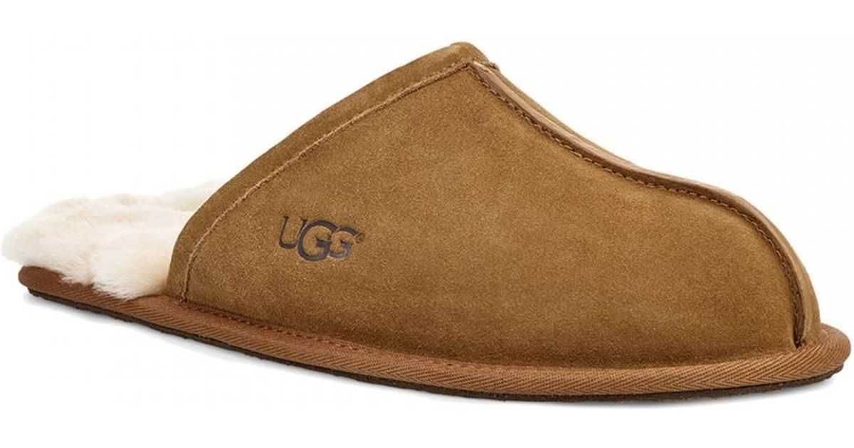 8bfb0a82764 Ugg - Brown Scuff Mens Slipper for Men - Lyst