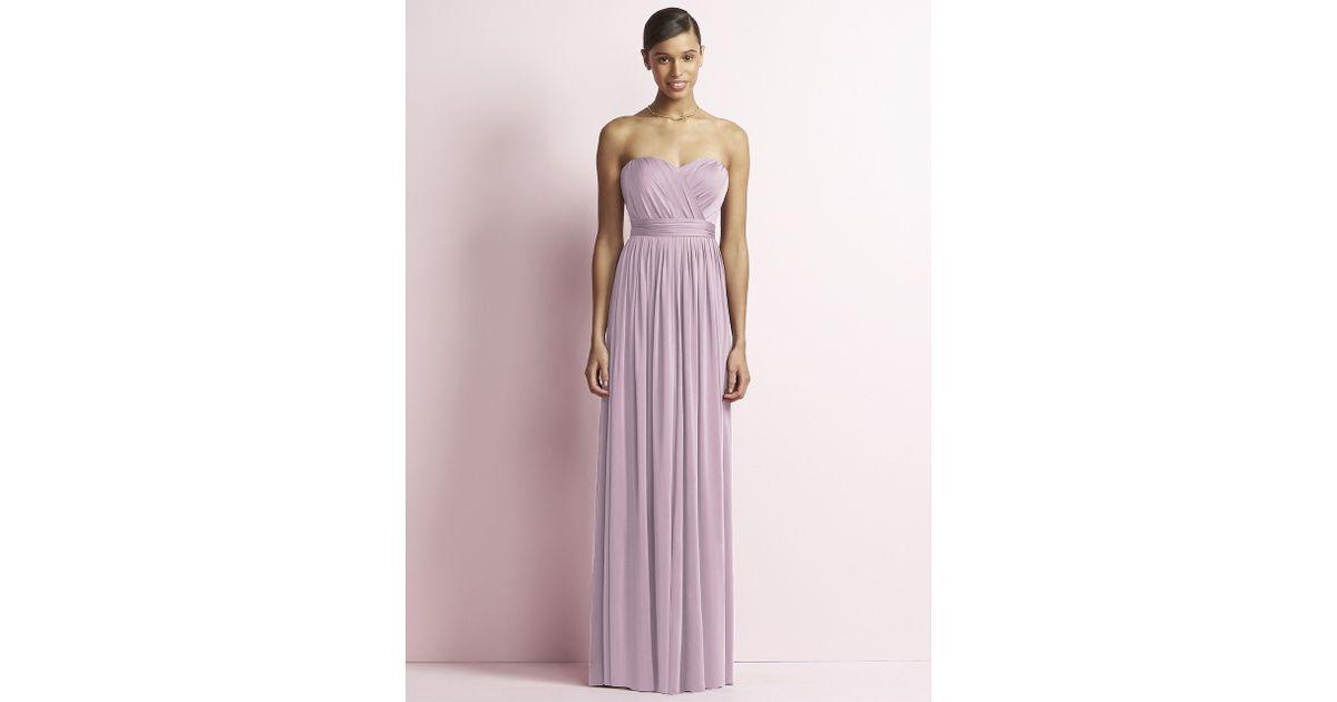 bc00b23f80f Lyst - Jenny Yoo Jy Dress In Suede Rose