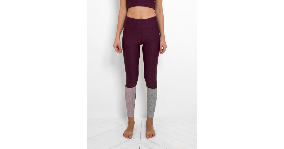 eb144208b2e2d Outdoor Voices Dipped Warmup Leggings in Purple - Lyst