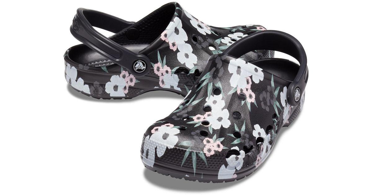 Crocs™ Tropical Floral / Black Baya