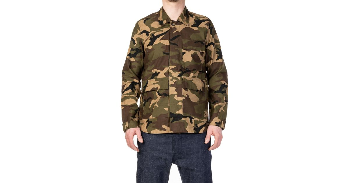 5f0a3ba0f2059 Rogue Territory Drifter Jacket Olive Camo in Green for Men - Lyst