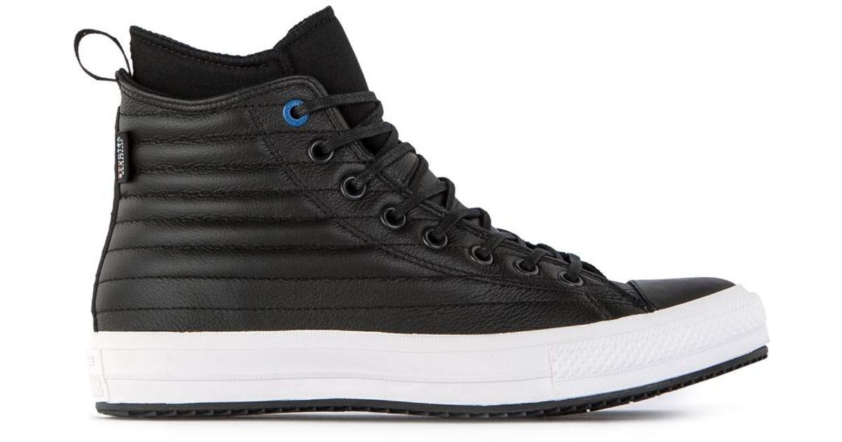 Converse Chuck Taylor Allstar Waterproof Boot Black Blue Jay