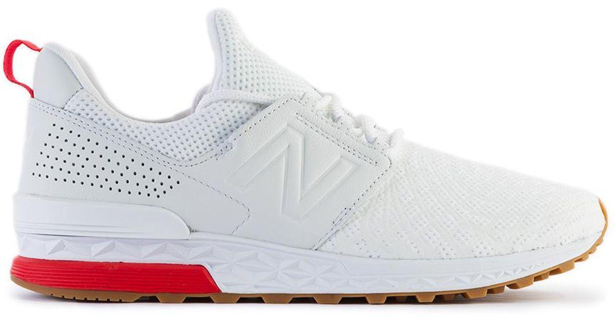 New Balance MS574 Sneaker low white