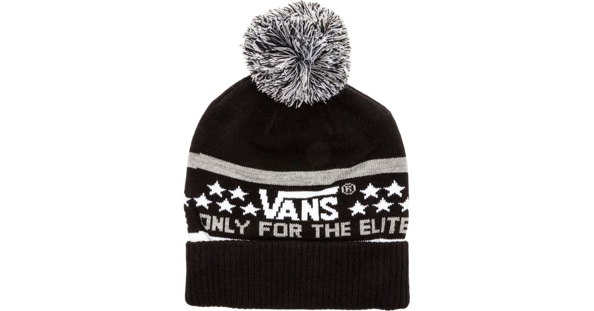 9a0d2d3c1b Lyst - Vans The Elite Beanie in Black for Men