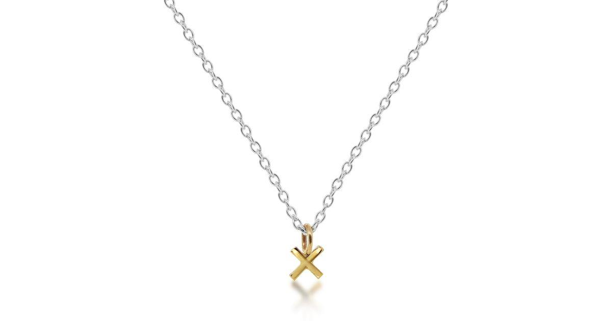 Maya Magal Kisses pendant necklace - Metallic 6urhml