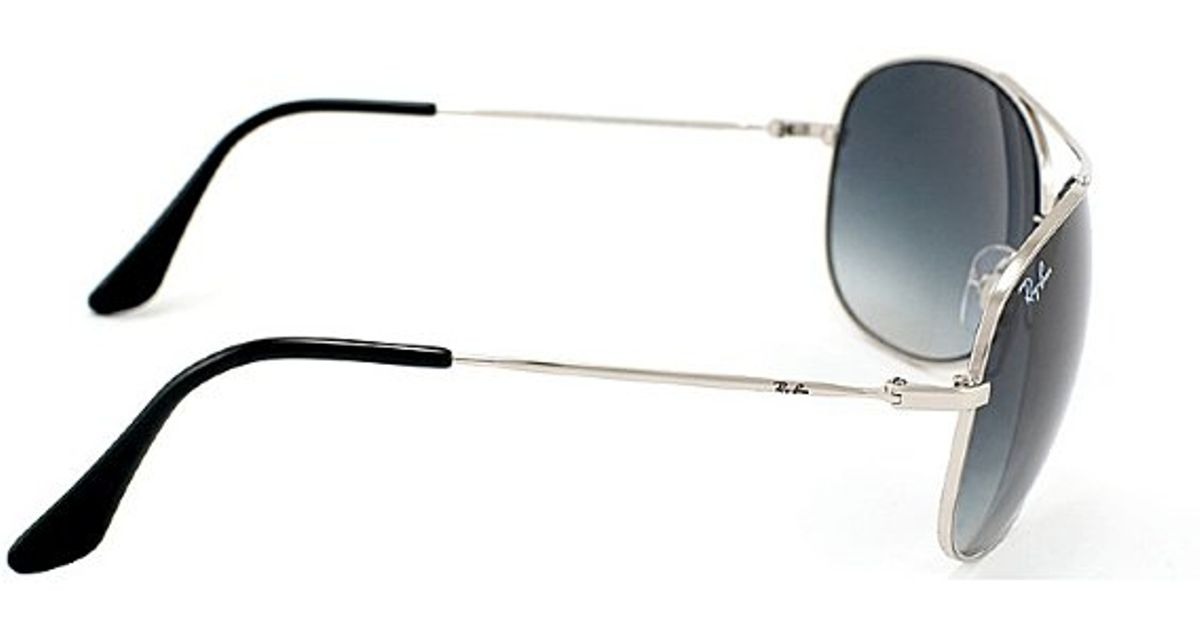 d0ada01575b ... get lyst ray ban ray ban rb3293 aviator 003 8g sunglasses in metallic  200b8 e5c0f
